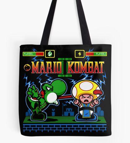 Mario Kombat II Tote Bag