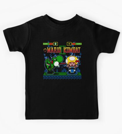 Mario Kombat II Kids Clothes