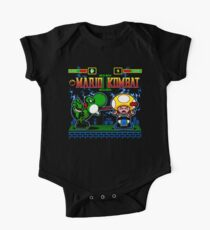 Mario Kombat II One Piece - Short Sleeve