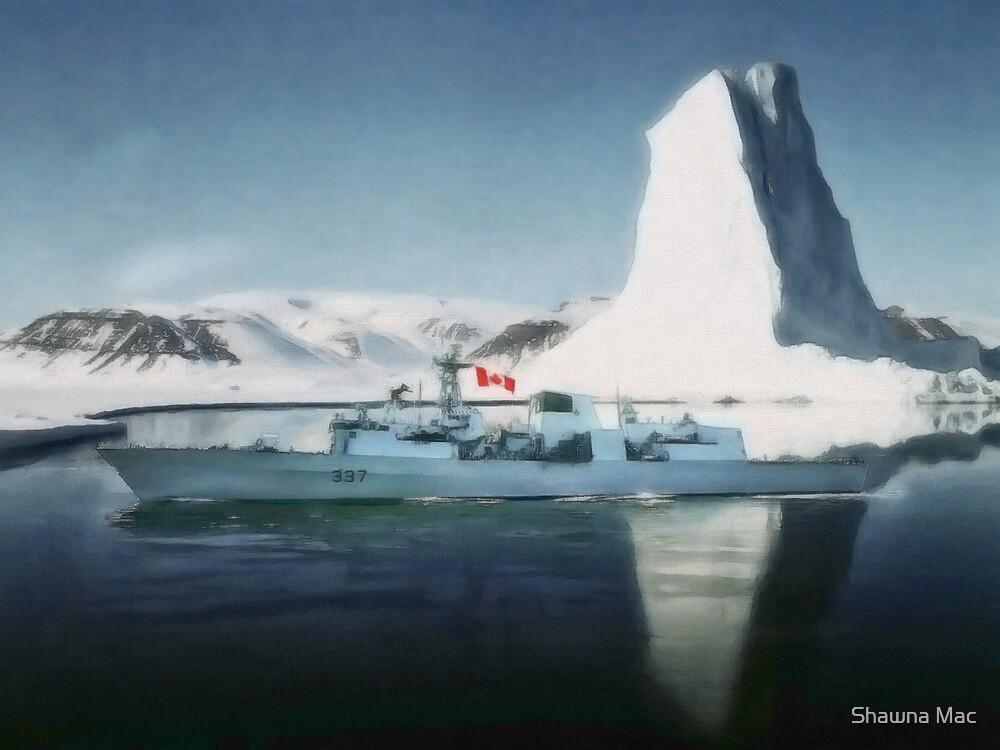 HMCS Fredericton V2 by Shawna Mac by Shawna Mac