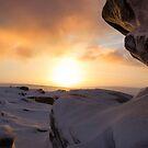 Winter Sunrise on Higger Tor by John Dunbar