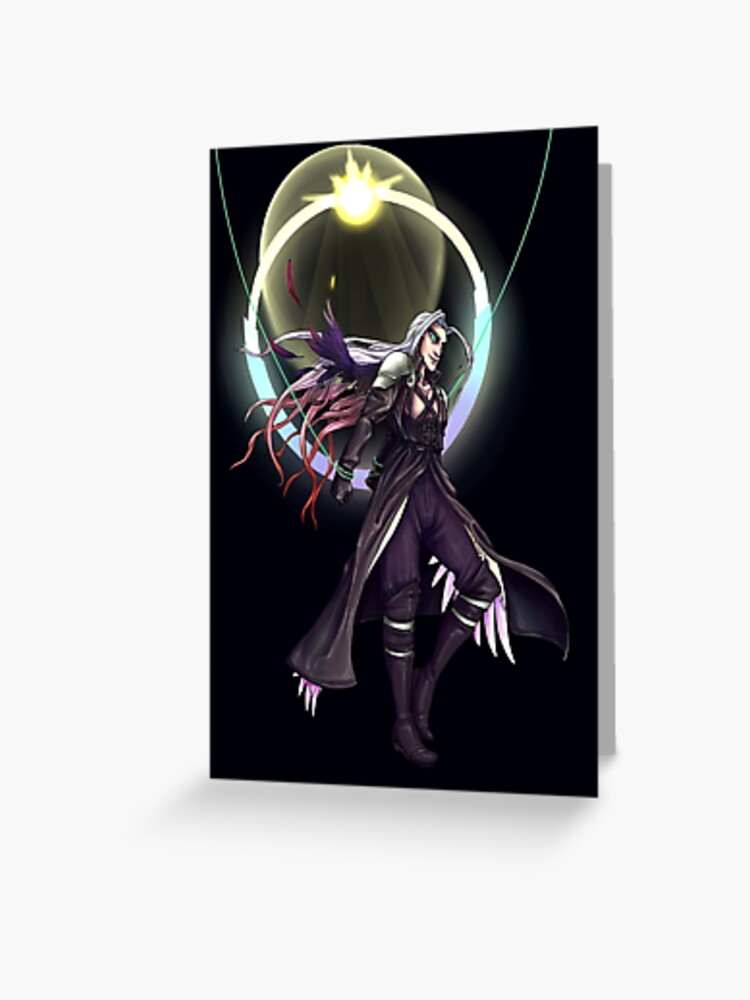 Final Fantasy Vii Safer Sephiroth Greeting Card
