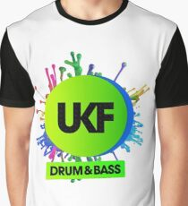 UKF-Drum And Bass Graphic T-Shirt