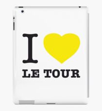 I ♥ LE TOUR iPad Case/Skin