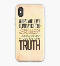 What remains is the truth iPhone Case