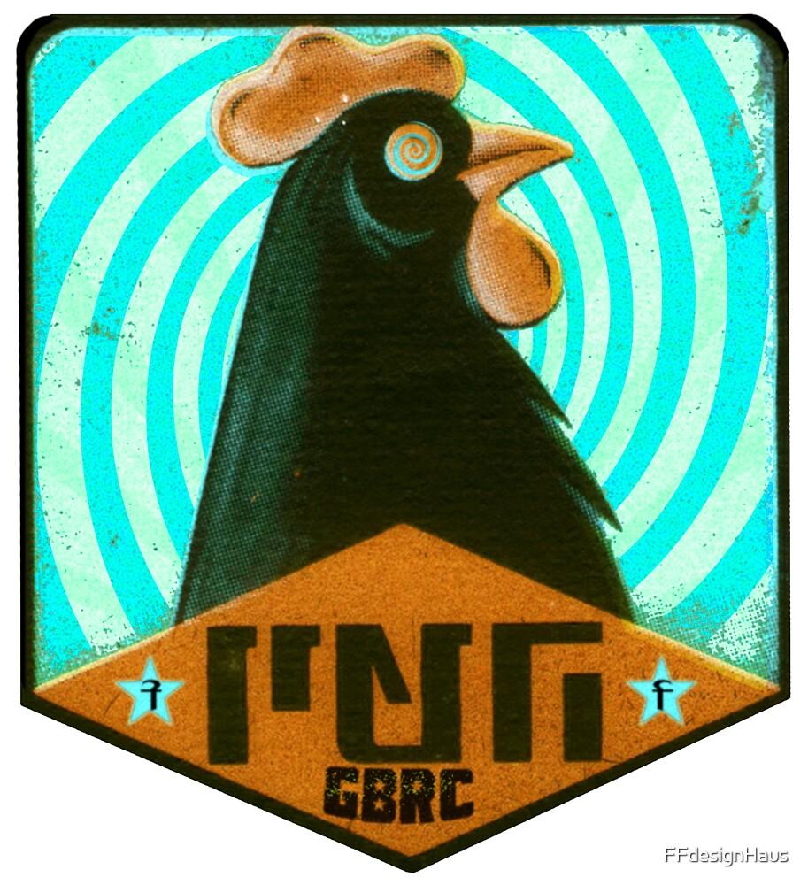 Psycho Chicken Negro GBRC by FFdesignHaus