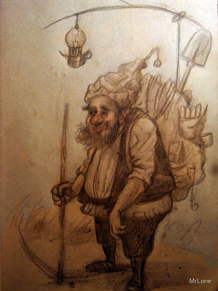 Dwarf sketch by MrLone