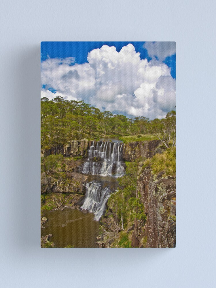Alternate view of Ebor Falls Lookout Canvas Print