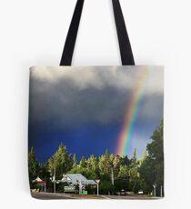 Rainbow drama Tote Bag