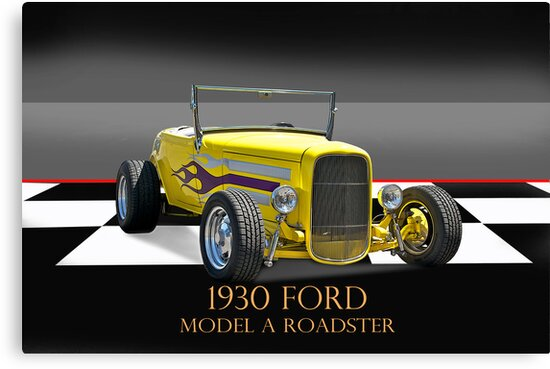 1930 Ford Model A Roadster w/ID by DaveKoontz