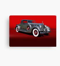 1934 Packard 1101 Eight Coupe w/o ID Canvas Print