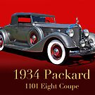 1934 Packard 1101 Eight Coupe w/ID by DaveKoontz
