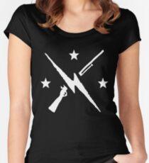 the minutemen  Women's Fitted Scoop T-Shirt