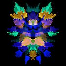 Neon Rorschach II by James McKenzie