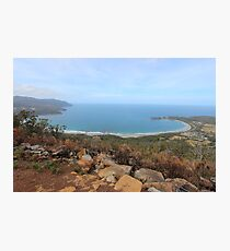 Pirates Bay - from the burnt Eaglehawk lookout Photographic Print
