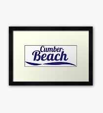 Cumber Beach Framed Print