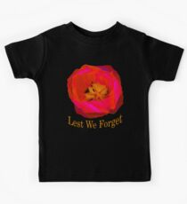 Lest We Forget, Poppy Kids Tee