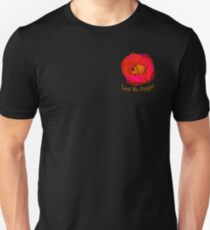 "Lest We Forget - ""Pocket"" Badge Unisex T-Shirt"