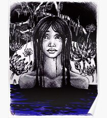 Lady of the Swamp Poster