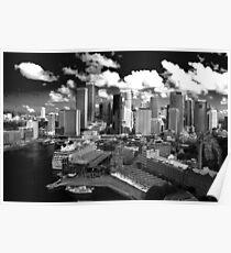 Sydney - BW Poster