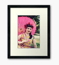 50s Lauren Framed Print