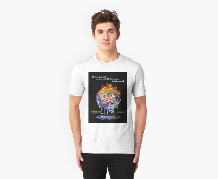 Global warming shirt from D.W.Arts by D.W. Arts