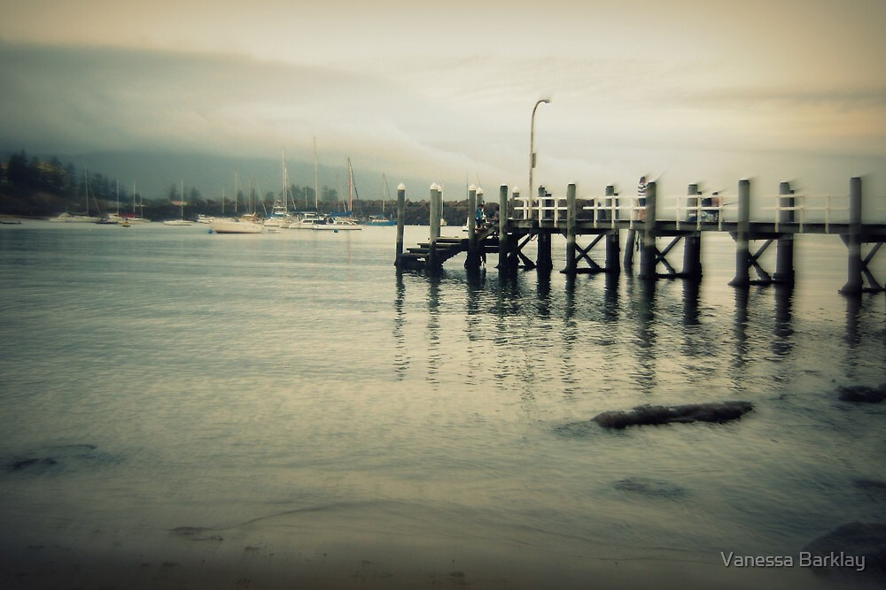 The Pier at Belmore Basin by Vanessa Barklay