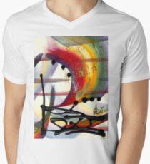 Over the Rainbow Men's V-Neck T-Shirt