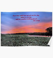 Hast Thou With Him Spread Out The Sky? Poster