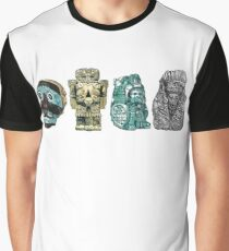 Aztec Gods and Goddesses Graphic T-Shirt