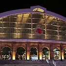 Lime St Station Liverpool By Night by Tony Parry
