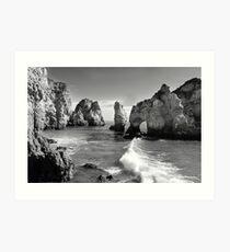 Erosion. Art Print