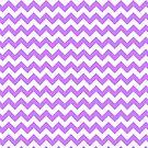Purple Chevron by pjwuebker