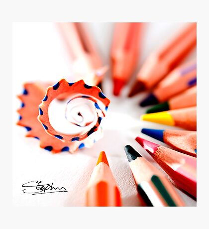 Pencil display Photographic Print