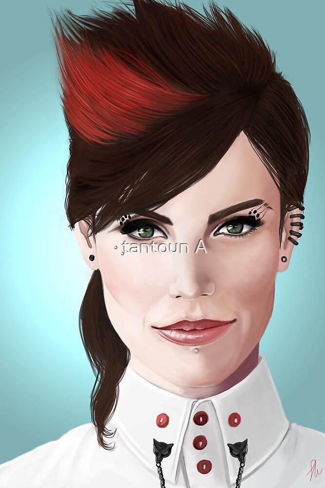 Fierce Ruby Lucas. by tantoun A