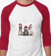 Christmas Choir Men's Baseball ¾ T-Shirt