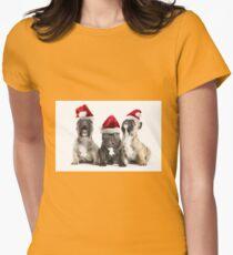 Christmas Choir Womens Fitted T-Shirt