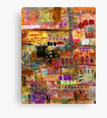 Playful Brushstrokes Canvas Print