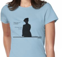 I hate to get news secondhand Womens Fitted T-Shirt