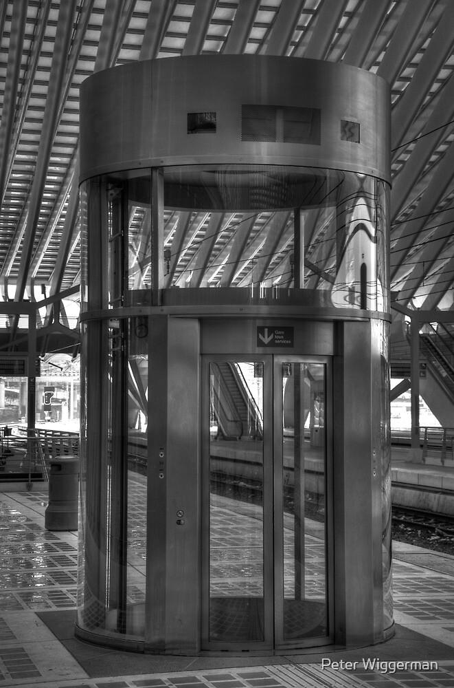 Elevator by Peter Wiggerman