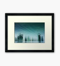 Reality Reflected Framed Print