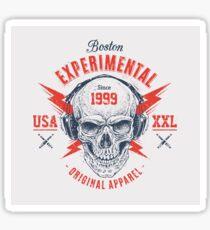 Boston Experimentell Sticker