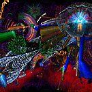 Oregon Zoo Lights Galaxy 2013 by TIMOTHY  POLICH