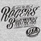 usa warriors  by rogers bros by usawarriors