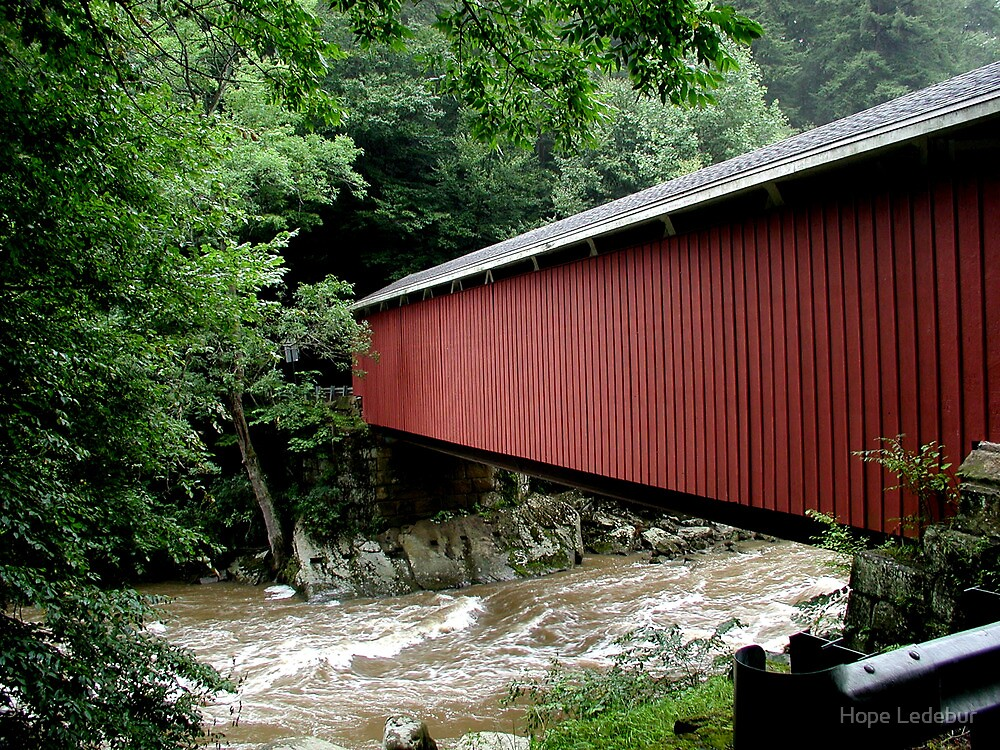 McConnell's Mills Covered Bridge by Hope Ledebur