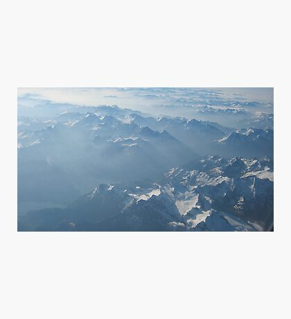 Birds View on the Alps VRS2 Photographic Print