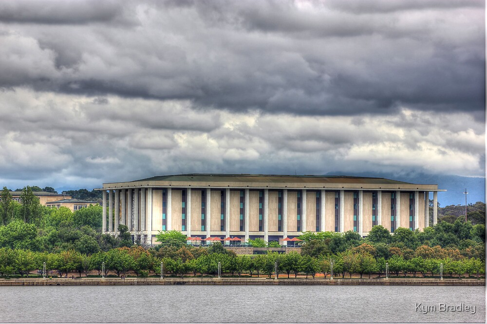 National Library Canberra by Kym Bradley