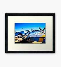 P51C Mustang WWII Fighter Plane Framed Print