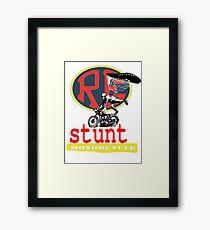 WWII STUNTS.. Framed Print