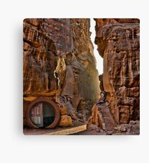 In the Canyon before Smaug Canvas Print
